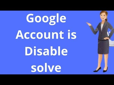 How to disable gmail  account || Google Account is Disable
