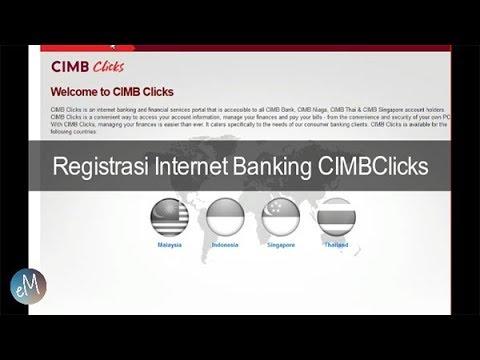 Cara Registrasi Internet Banking CIMB Niaga CIMBClicks