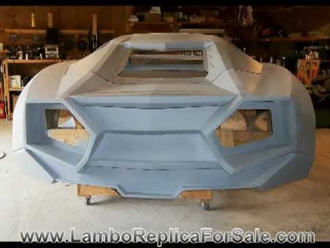 Lamborghini Reventon Replica Project Part 3: A Quick Kit Car Update Before Molding Process. Video C.