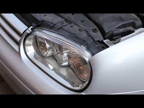 VW Golf/Bora Replacing & Fitting New Headlight Sidelight bulb