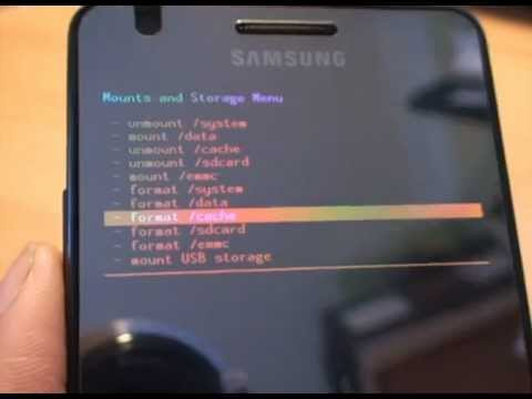 ClockWorkMod (CWM) Recovery, Restore of a System Image. Nandroid