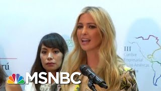 Mika Urges Ivanka Trump To Speak Out In Public On Immigration Policy | Morning Joe | MSNBC