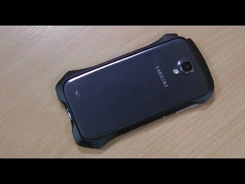 Draco Design Samsung Galaxy S4 Bumper Review - Aluminium Bumper