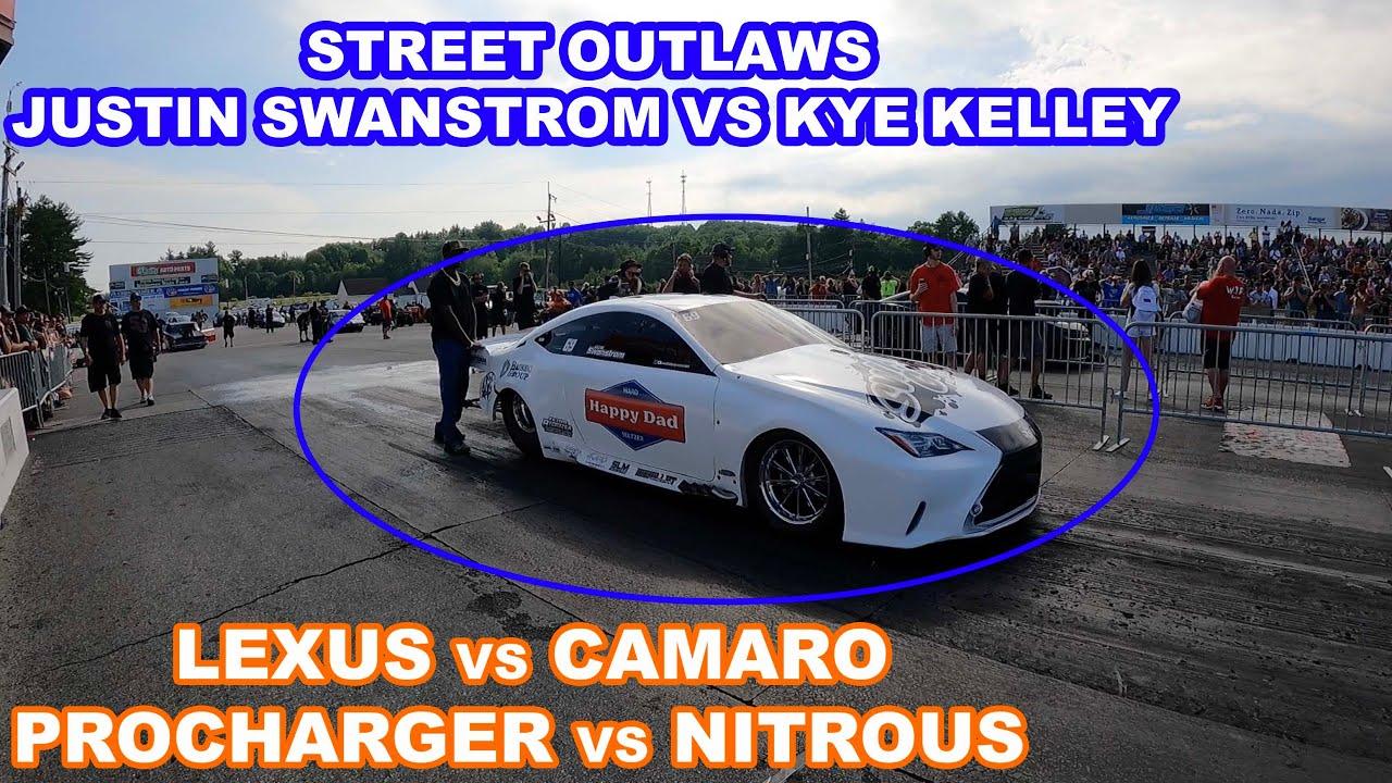 Justin Swanstrom vs Kye Kelley For CASH MONEY!! STREET OUTLAW NO PREP KINGS RACE #4