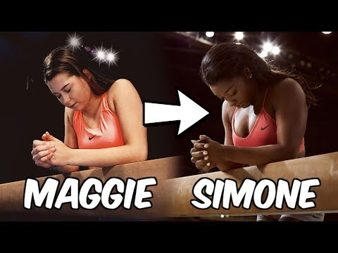 Recreating Famous Gymnasts' Instagram Photos!