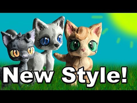 HOW TO CUSTOMIZE LPS INTO WARRIOR CATS - NEW STYLE!