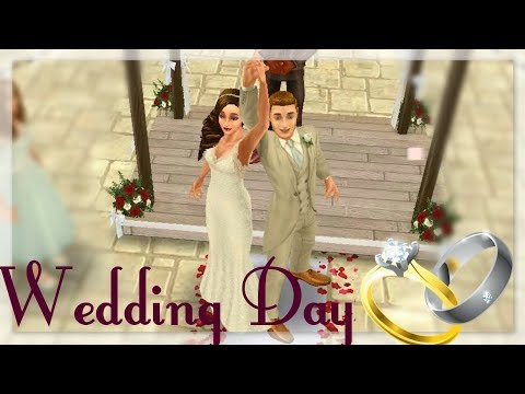 Simsfreeplay - Wedding Ceremony of a Sim(Alan weds Hannah)