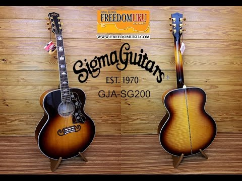 Xxx Mp4 Guitar Review กีตาร์โปร่งไฟฟ้า Sigma Guitar GJA SG200 By Freedom Uku Music 3gp Sex