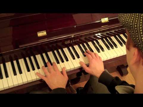 Jazz Piano Lesson-How To Play Satin Doll with Spread Voicings