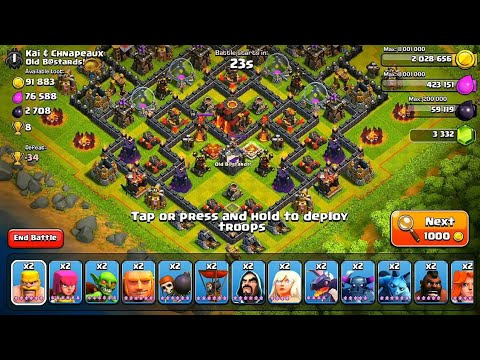 How to attack at clash of clans with unlimited troops (no hack)