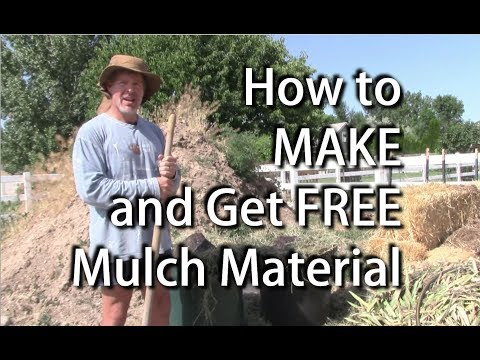Make Free Mulch for Your Garden
