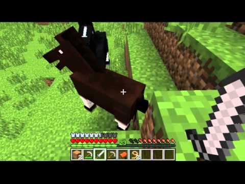 MineCraft 1.7.9 - How to Tame a Horse
