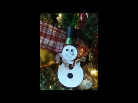 Tea light Snowman With Danny!
