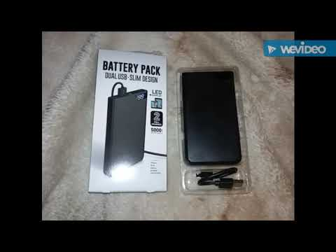 The Walmart $9.96 Battery Pack - 5,000 mAh Lithium Polymer Emergency Backup Power Supply ☆Overview☆