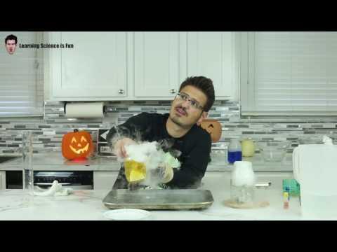 DIY Dry Ice Apple Juice | Mister C