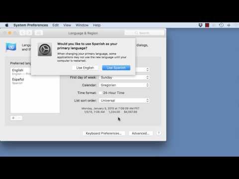 ATLAS ti Mac: Changing the Interface Language
