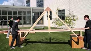 1st Year Civil Engineering Bridge Build Project