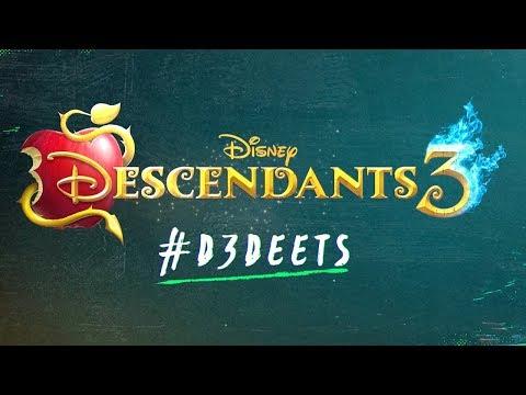 #D3 Deets: Who is Hades? 🔥💙 | Descendants 3