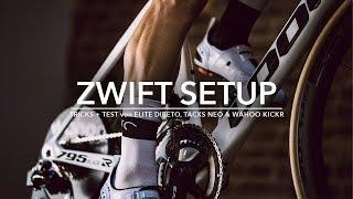 ZWIFT SETUP   TRICKS + TEST von ELITE DIRETO 25ffa2c24