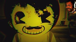 HELLO NEIGHBOR X BENDY AND THE INK MACHINE!? (so many views..) | Hello Bendy (Halloween Update)