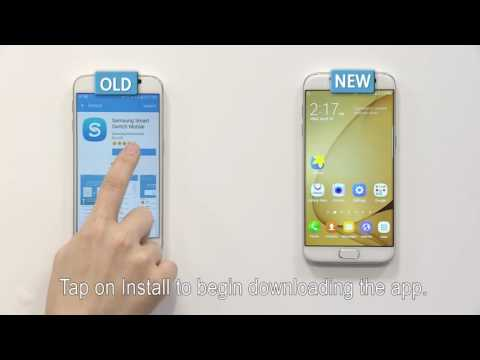 Samsung Smart Switch | How To: Android device to a Galaxy device using WiFi Direct