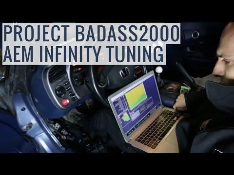AEM Infinity ECU Tuning & Dyno Results - Project BADASS2000 - EP02