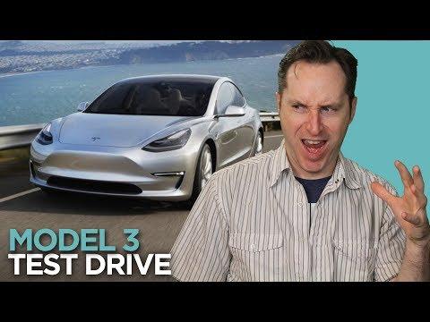 My Tesla Model 3 Test Drive w/Ben Sullins of Teslanomics | Answers With Joe