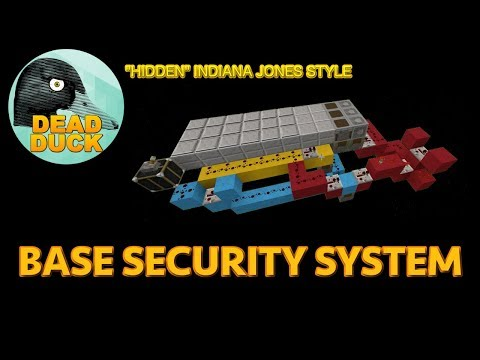 How To: Build an Indiana Style Base Security System!