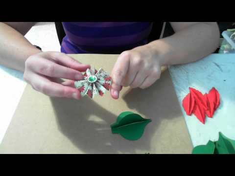 Make the stampin up ornament with your cricut cartridge