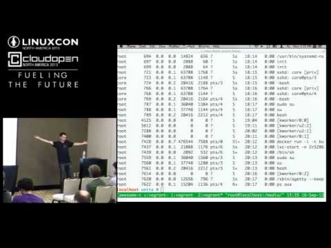 Modern Linux Servers with cgroups - Brandon Philips, CoreOS