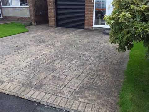 Pattern Imprinted Concrete Restoration