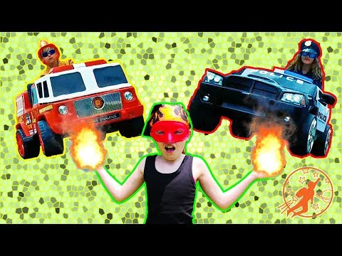 New Sky Kids Super Episode - Little Heroes Fire Engines, Police Cars and Heroes