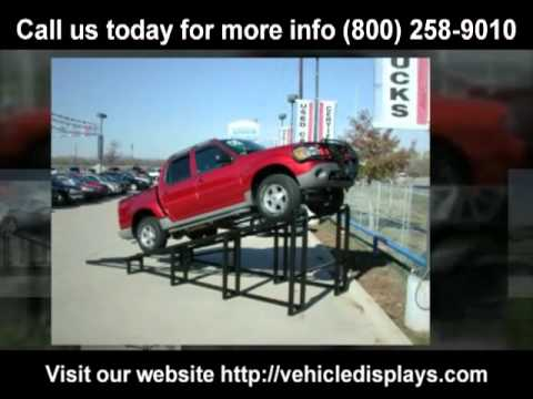 Car display ramps for sale 800-258-9010