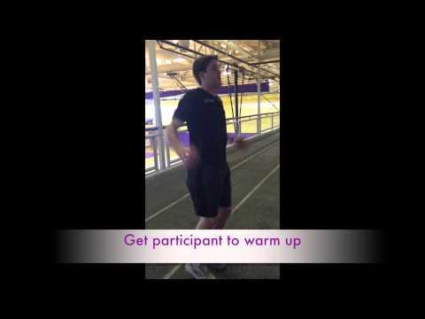 1.5 Mile Run Test Demonstration