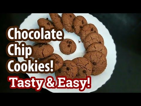 Chocolate chip cookies   Choco chip cookies in Tamil