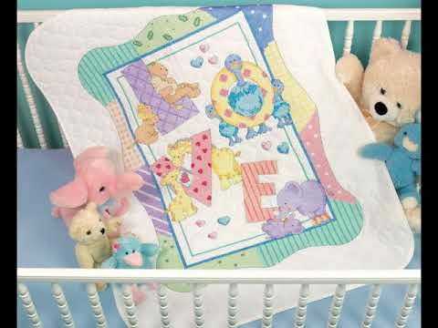 Baby Cross Stitch Quilt Kits