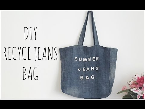 Recycled Jeans Bags