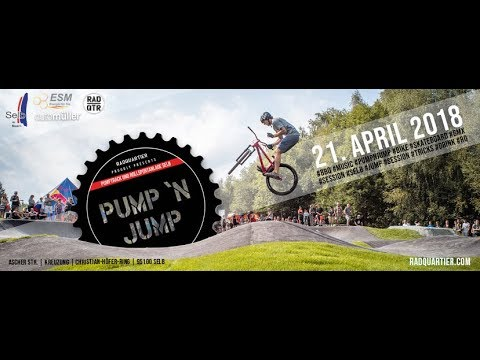 Pump´n Jump Jam at Pumptrack Selb | presented by RadQuartier