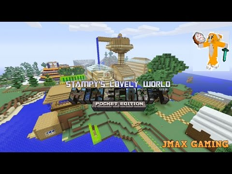 STAMPY'S LOVELY WORLD IN MCPE