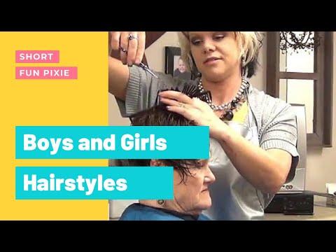 Short, Easy, Trendy Haircut for (Ladies Hairstyles) - Peinado