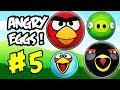 Angry Birds Funny Series Angry Eggs 5 Kinder Surprise Egg To