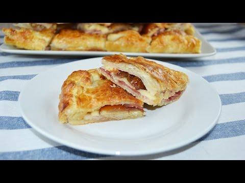 Bacon, Dates & Cheese Empanada - Easy Bacon Turnover Recipe
