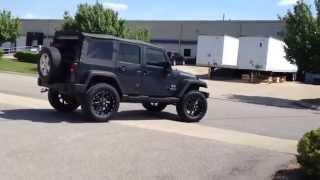 56364c42e35 2007 Jeep Wrangler 20 inch Ballistic Wheels and 35 inch Tire Nashville TN