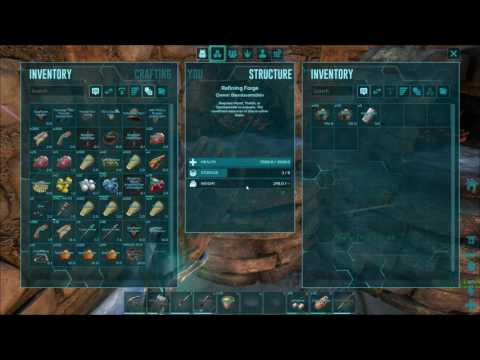 How much Metal does One Sparkpowder smelt - Ark Survival Evolved