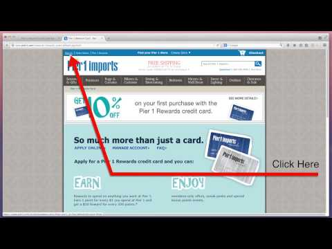 Pier 1 Imports Rewards Credit Card Bill Payment - mybillcom.com