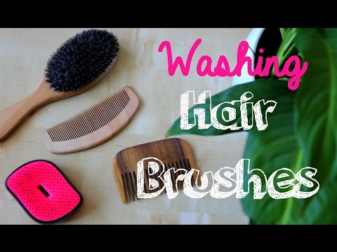 How To Wash Hair Brushes