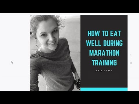 How To Eat Well During Marathon Training