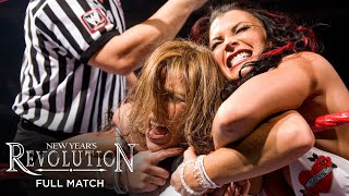 FULL MATCH - Mickie James vs. Victoria – WWE Women's Title Match: WWE New Year's Revolution 2007