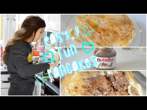 How To Make Easy & Fun Pancakes I Dizzybrunette3