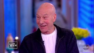 Download Patrick Stewart On New Movie 'The Kid Who Would Be King' | The View Video
